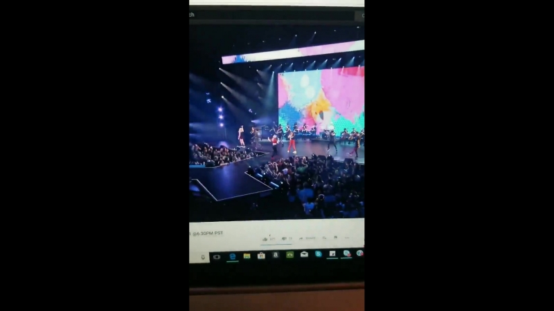Small snippet of Alyson Stoner on stage at VidCon!