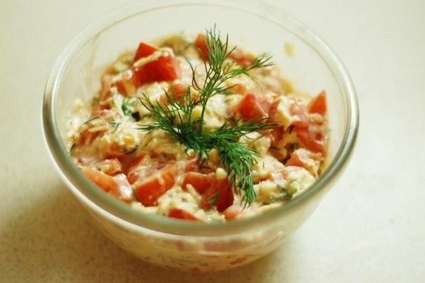 рецепт помидоры с сыром и чесноком с фото