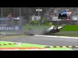 GP3 2013 - Monza - Race 2 - Fong Huge Crash