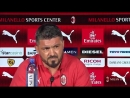 ICYMI here are the highlights of the first press conference of the 201819 season with Rino Gattuso and @MassMirabelli - TheDevil