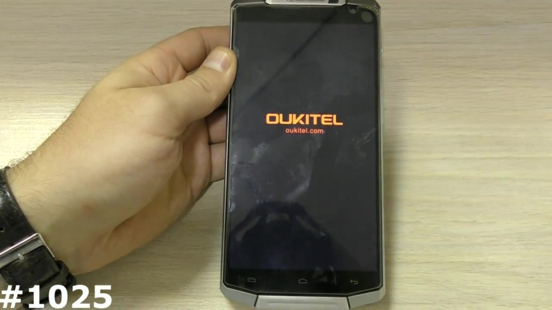 Сброс настроек Oukitel K10000 (Hard Reset Oukitel K10000)