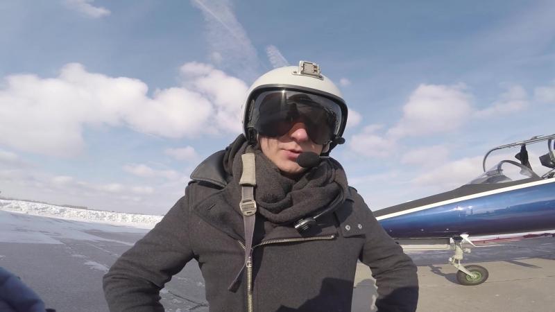 Как я полетал на реактивном самолете | Сергей Болдырев (Cloud Maze)