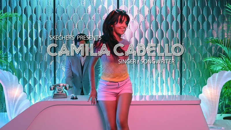 """Camila Cabello for Skechers D'Lites """"Miami"""""""