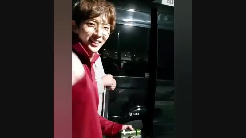 20181011 instagram by jg_soo_ (20181021) После съёмок в шоу Всезнающие братья