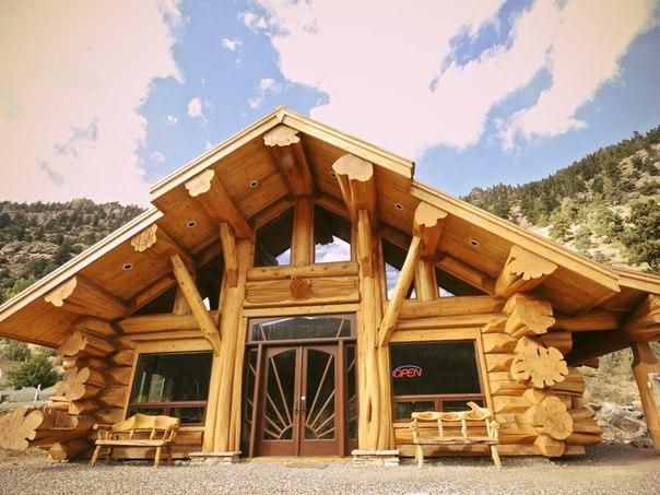 Дом из дерева кедра цена