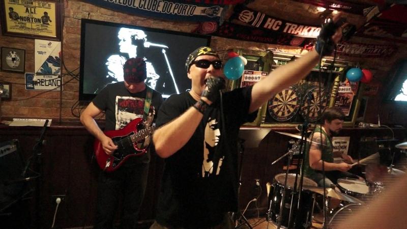 Группа Кадры cover гр Кино Irish Papa's Pub Перемен