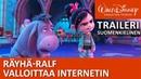 Suomeksi puhuttu traileri Räyhä Ralf valloittaa Internetin