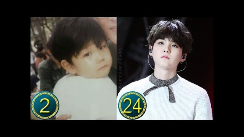 [Suga] Min Yoongi Predebut   Transformation from Childhood to Present