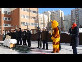 Открытие турнира по хоккею с шайбой на кубок «ПСК-6»
