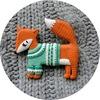 So Foxy. Украшения и чашки by koteyka