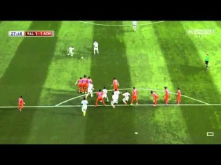 Keisuke Honda amazing free-kick goal | Valencia vs AC Milan | Pre-Season Friendly, 2014 HD