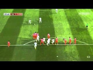 Keisuke Honda amazing free-kick goal | Valencia vs AC Milan | Pre-Season Friendly, 2014 HD