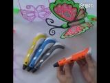 Развиваем мелкую моторику детей с помощью 3D-ручки!