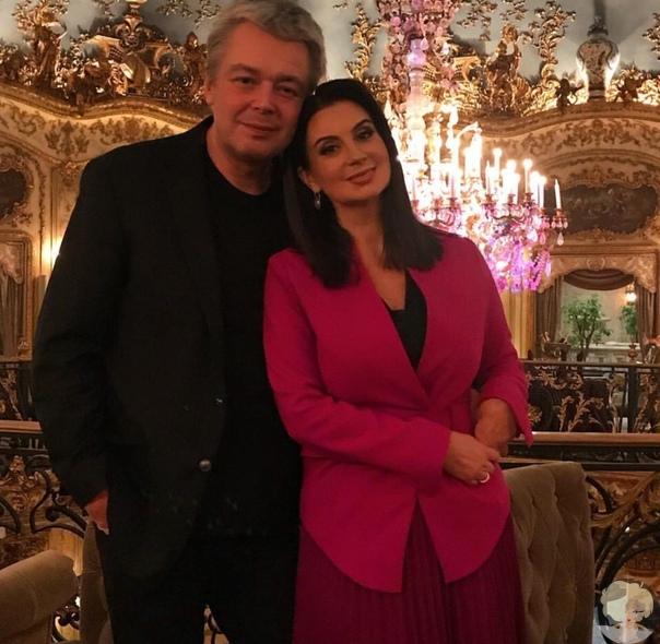 Екатерина Стриженова с супругом