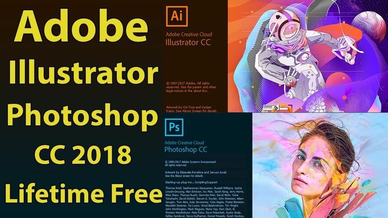 Adobe Illustrator CC 2018 Free for Lifetime - Photoshop Free Download Full Version Hindi/Urdu
