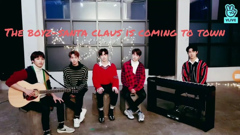 THE BOYZ 더보이즈 VOCAL LINE SANTA CLAUS IS COMING TO TOWN COVER