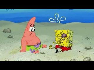 Спанч Боб. Песочные замки на пляже. Ракушечная катастроф...