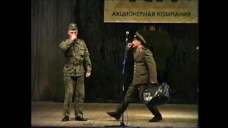 Театр ЛЮКС.Особенности нашей армии (фрагмент)-вариант 1.Автор - Е. Шестаков.