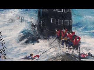 Видеоэкскурсия по выставке, посвящённой 40-летнему Юбилею Котласского объединения художников, часть пятая (0+)