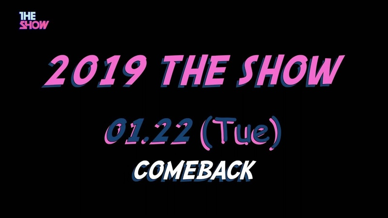 1/22 tue. THE SHOW COMING SOON !