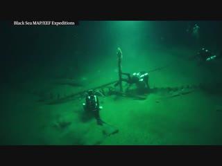 В Черном море нашли древнейший затонувший корабль