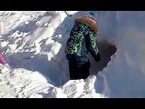 Сибирь под снегом  Siberia under snow