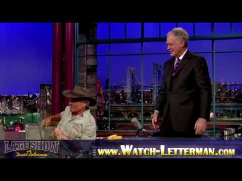 Jungle Jack Hanna on David Letterman - 02052010 - Part 1