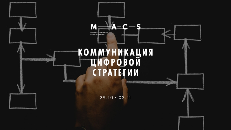 Интенсив Коммуникация цифровой стратегии в MACS