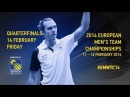 QF - Dmytro Zavadsky (UKR) vs Marc Zwiebler (GER) - 2014 European Men's Team C'ships