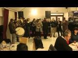 Fanfara de la 10 Prajini la deschiderea Restaurantului Ideall din Tamaseni