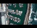 Jaffa Port Tel Aviv - Israel from Above 4K (Dji Mavic Air)