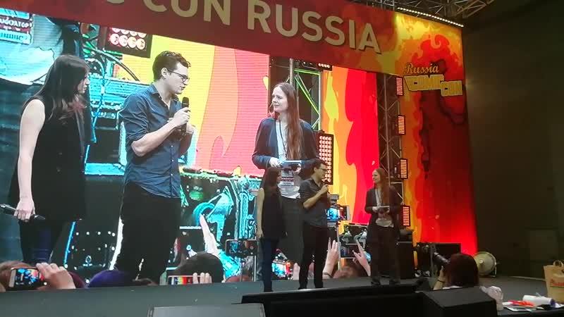 06.10.2018 ComicConRussia Игромир