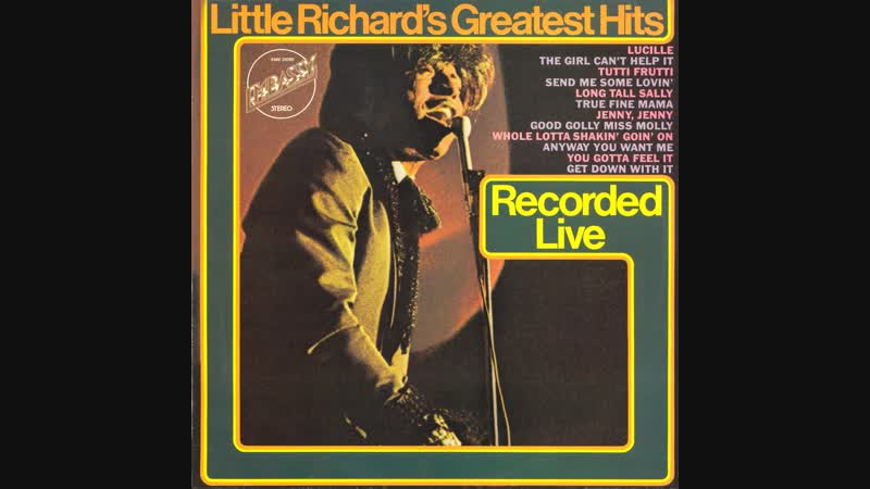Little Richard - 1967 - Little Richards Greatest Hits Recorded Live © [LP] © Vinyl Rip