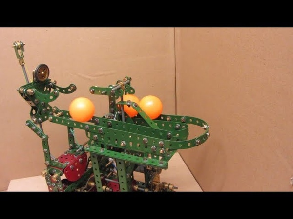 Meccano Model Percy the Ping Pong Porter