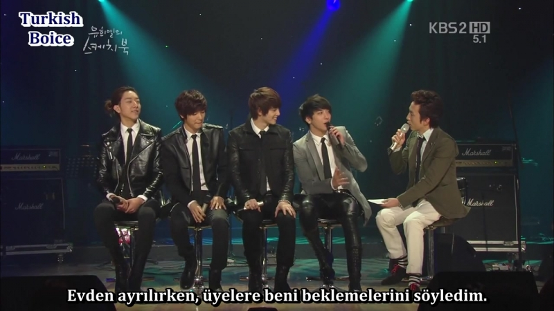 30 03 2012 Yoo Hee Yeols Sketchbook CNBLUE Türkçe Altyazılı