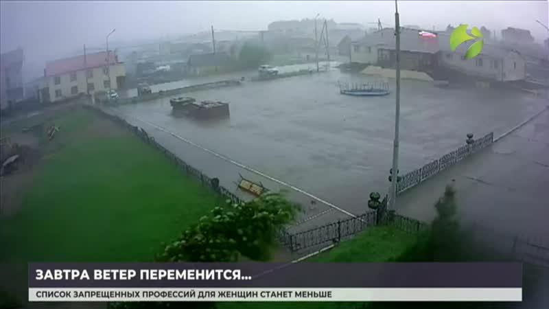 Синоптики прогнозируют прохладные выходных на Ямале.mp4