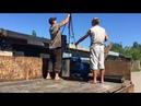 Большой Переезд Перевозим Смеситель Дробилку и Гранулятор Great Moving