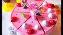 Распаковка ТОРТА, сладкий СЮРПРИЗ, играем в ЧАЕПИТИЕ Toy cutting velcro cakes