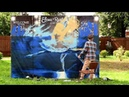 STREET ART NEW GRAFFITI OT ALLiANS SWAN LAKE