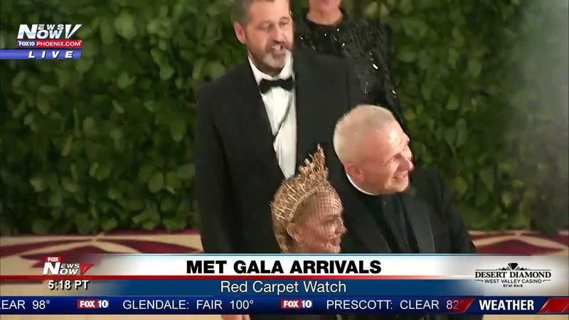 MADONNA ARRIVES: Met Gala 2018 red carpet (FNN)