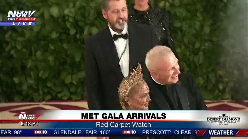 MADONNA ARRIVES: Met Gala 2018 red carpet (FNN)