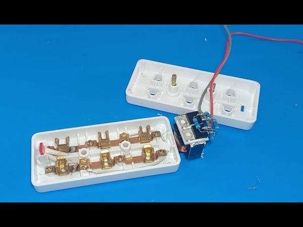 Mini inverter for smart phone charging and LED bulb
