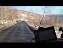 спуск к озеру Байкал, конец ноября 2017г.