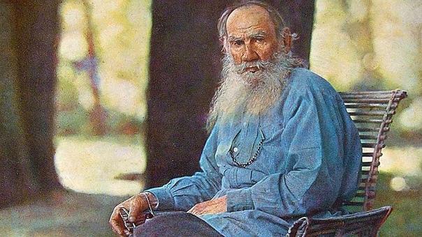 Таким его не знал еще никто. Его имя  Лев Толстой.