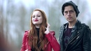 Riverdale 2x22 Jughead becomes Serpent King and gives Cheryl a Serpent Jacket 2018 HD