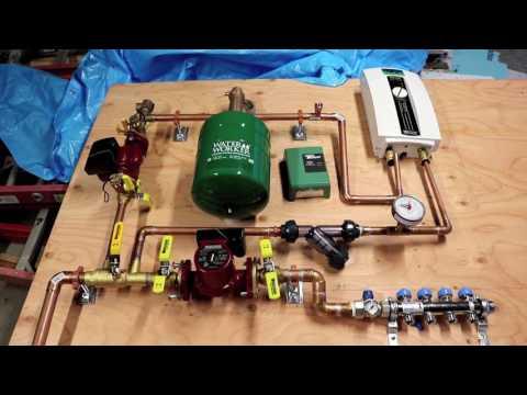 Bens Garage Hydronic Heating Update Jan 25 2017