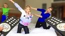 Мама ПОСТАВИЛА ПАПУ на ПАУЗУ! ЧЕЛЛЕНДЖ ПАУЗА 24 ЧАСА Что Придумала Милана для РОДИТЕЛЕЙ Family Box