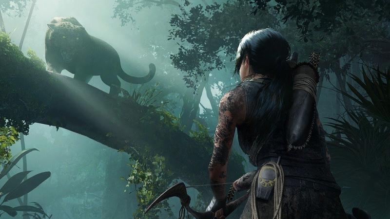 Shadow of the Tomb Raider Nvidia Trailer - Gamescom 2018
