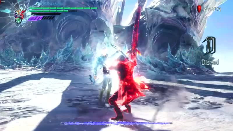 Devil May Cry 5 — Vergil fight update 1