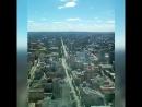 Вид со Смотровой вышки Высоцкого на Екатеринбург. БЦ Высоцкий. 52 этаж